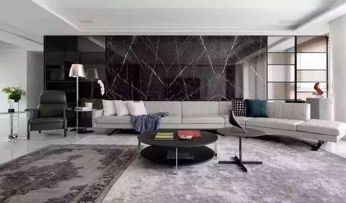三居 欧式 客厅图片来自言白设计在大理石的分享