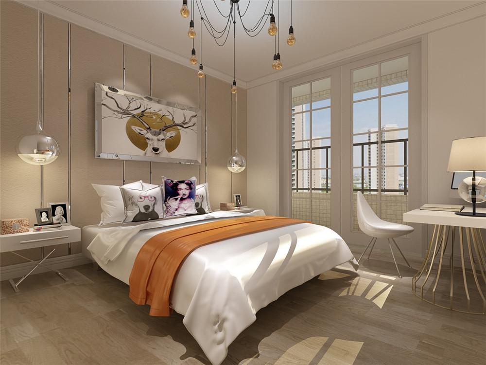 简约 二居 小资 卧室图片来自阳光力天装饰在【力天装饰】阳光海岸140㎡简约的分享