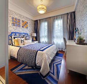 中式 三居 四居 大户型 复式 80后 白领 小资 儿童房图片来自高度国际姚吉智在147平米现代中式三居最美的家的分享