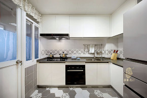 北欧 三居 收纳 旧房改造 家装 装饰设计 厨房图片来自设计师胭脂在胭脂原创设计:一木一家的分享