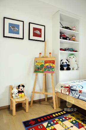 北欧 三居 收纳 旧房改造 家装 装饰设计 儿童房图片来自设计师胭脂在胭脂原创设计:一木一家的分享