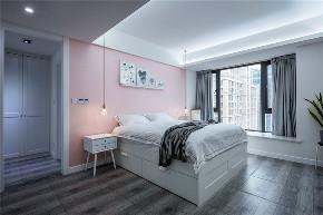 白领 北欧 小资 精致 卧室图片来自设计师陈欢在七间设计#隐藏的少女心#的分享