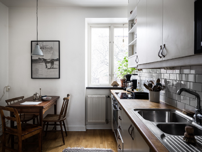 欧式 三居 厨房图片来自言白设计在木质的分享