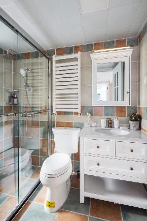 精致生活 美式 白领 卫生间图片来自设计师陈欢在七间设计#早安#的分享