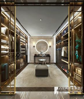 新古典 别墅 跃层 复式 大户型 小资 衣帽间图片来自高度国际姚吉智在阳光上东480平米古典高贵典雅的分享