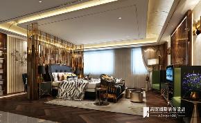 新古典 别墅 跃层 复式 大户型 小资 卧室图片来自高度国际姚吉智在阳光上东480平米古典高贵典雅的分享