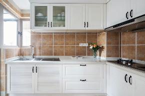 精致生活 美式 白领 厨房图片来自设计师陈欢在七间设计#早安#的分享