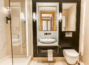 泷悦长安 新古典 雅致 卫生间图片来自别墅设计师杨洋在雅致主义风格之新古典--泷悦长安的分享