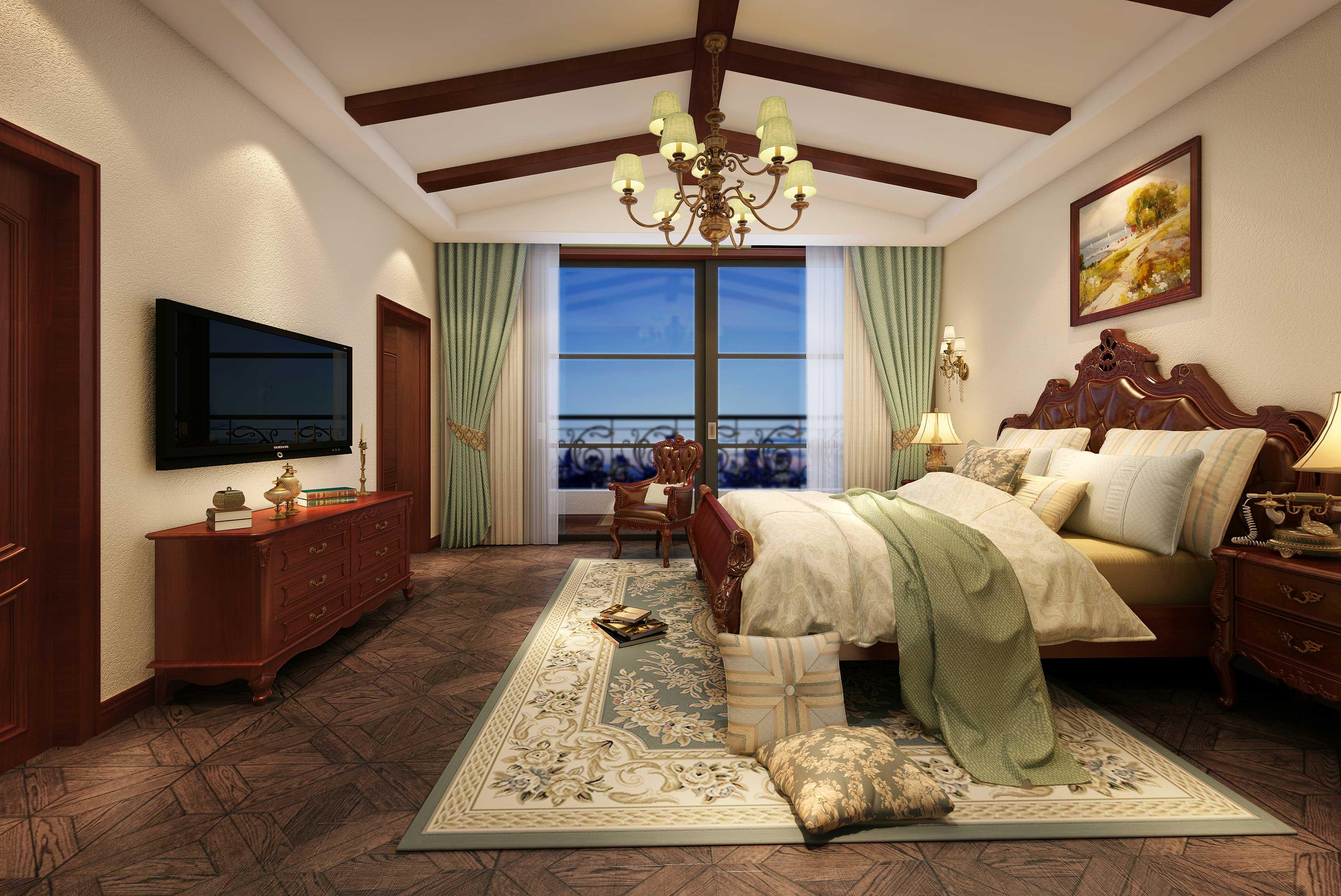 别墅 卧室图片来自朱平波在浅水湾——光舞云端的分享