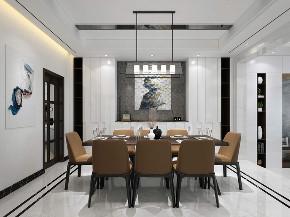现代, 别墅 收纳 朱平波 餐厅图片来自朱平波在金河谷——慕白的分享