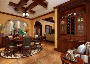 美式 别墅 收纳 朱平波 餐厅图片来自朱平波在逸源香舍——韵的分享