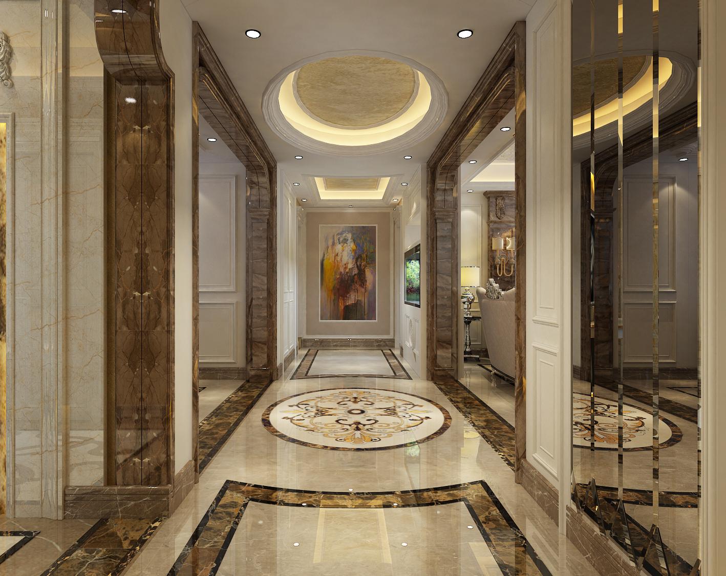 简欧风格 三居 客厅 餐厅 简约 80后图片来自太原一家一装饰有限公司在简欧风格装修案例的分享