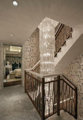 欧式 法式 别墅 跃层 复式 大户型 小资 楼梯图片来自高度国际姚吉智在441平米法式风遇见生活之惬意的分享