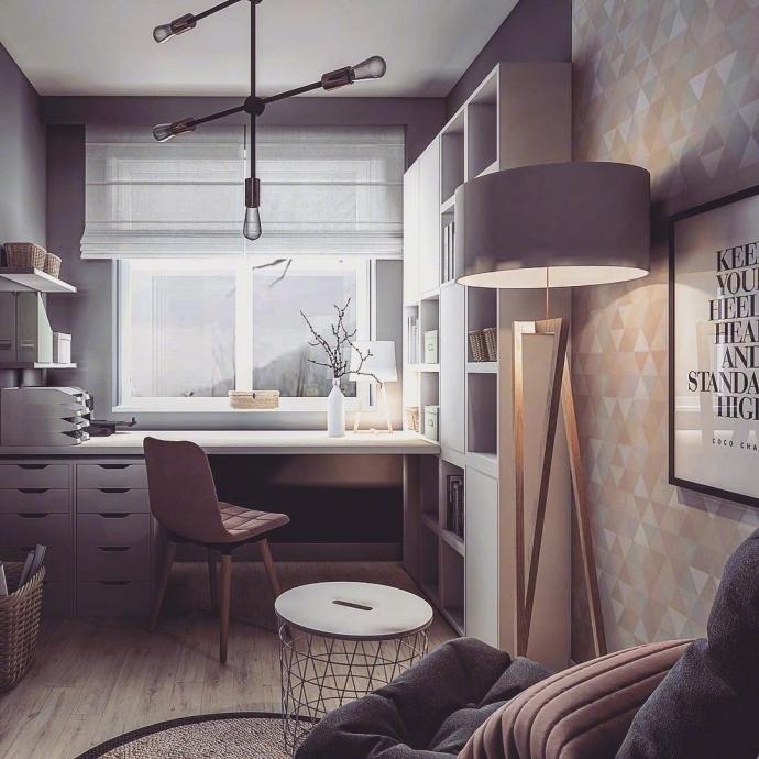 卧室图片来自言白设计在温馨的分享