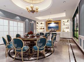 美式, 别墅 朱平波 收纳 餐厅图片来自朱平波在万科五龙山 案暖的分享