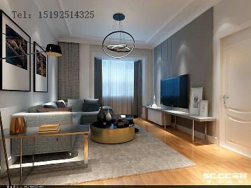 海山慧谷129平三居室现代简约