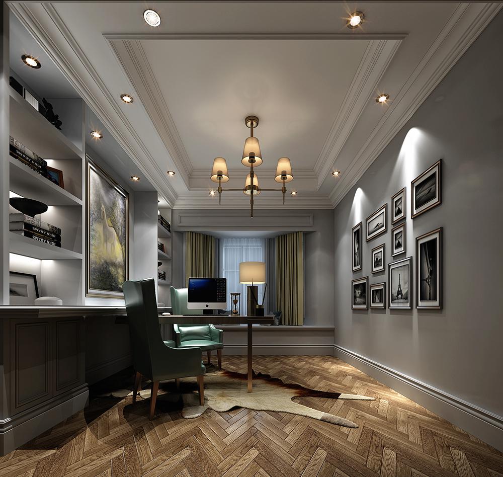 别墅装修 新古典 现代 腾龙设计图片来自腾龙设计在安澜西郊别墅项目装修现代风格的分享