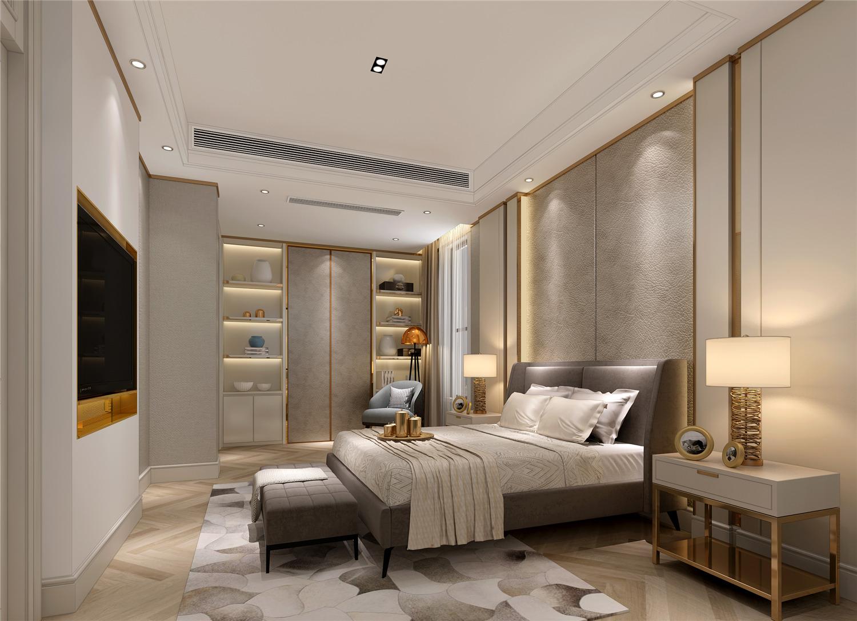 安亭高尔夫 别墅装修 现代风格 新古典 混搭风格 腾龙设计 卧室图片来自孔继民在安亭高尔夫别墅装修现代风格设计的分享