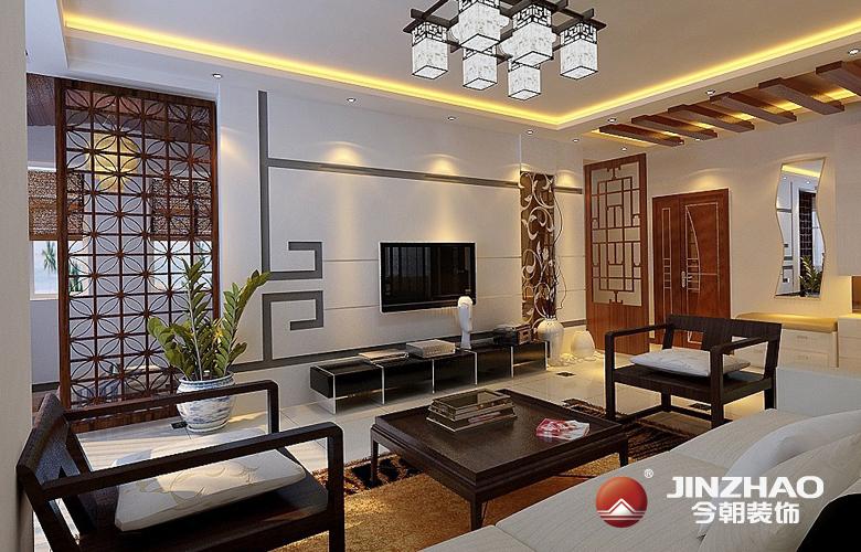 中式混搭 客厅 古典雅致图片来自时有微凉不是风在今朝宜居的分享