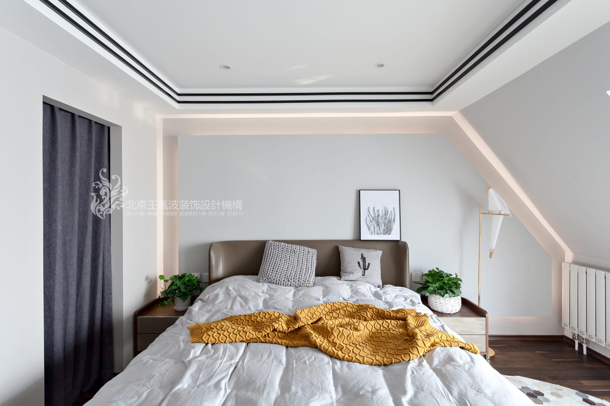 简约 三居 卧室图片来自爱窝窝精致家装机构在素木简约的家的分享
