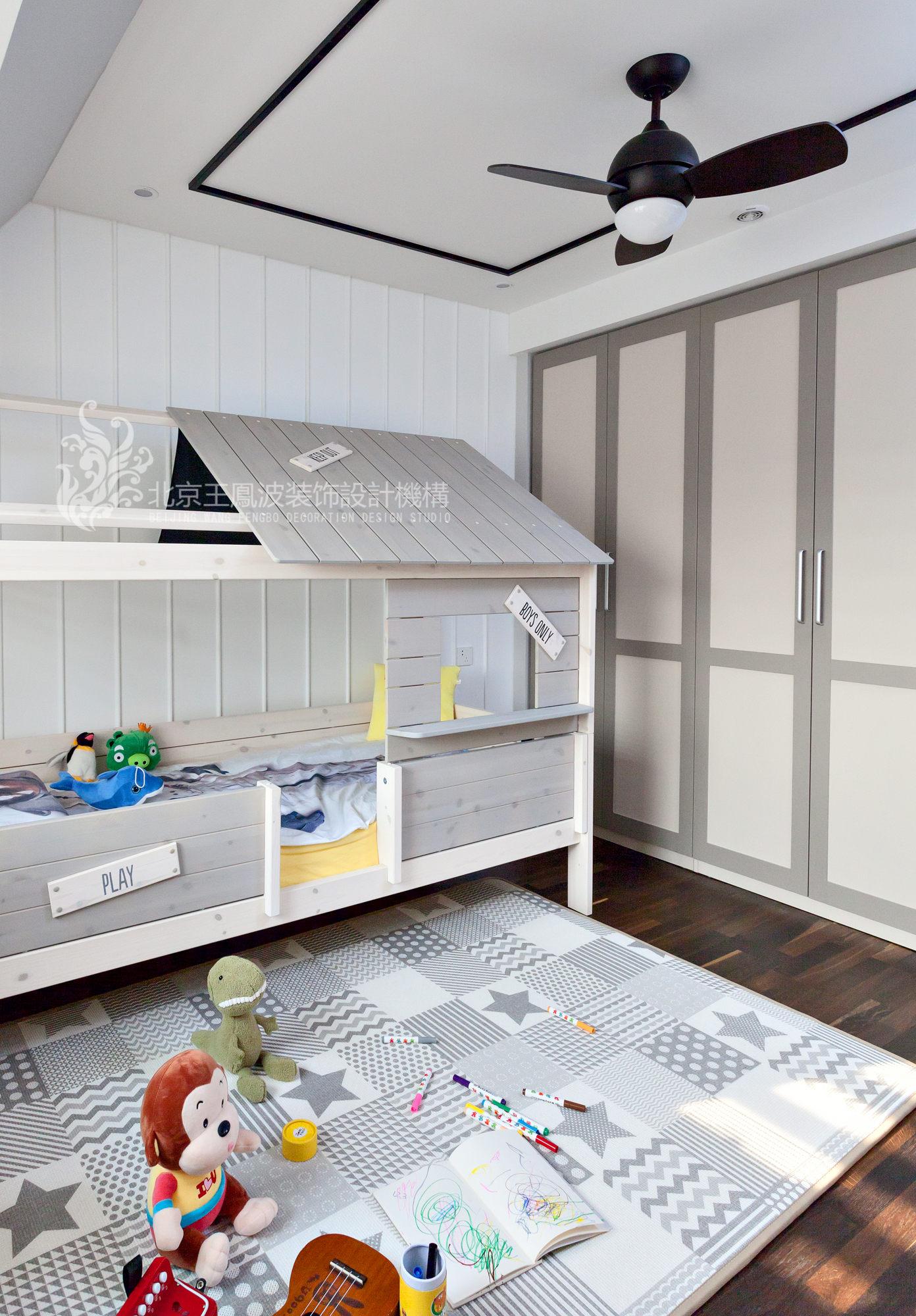 简约 三居 儿童房图片来自爱窝窝精致家装机构在素木简约的家的分享