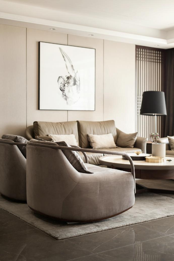 简约 三居 北欧 客厅图片来自言白设计在高级灰的分享