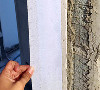大业美家装饰所有的新建墙面全部张贴一层抗裂布,再进行墙体的粉刷,确保墙面后期不会出现开裂现象。