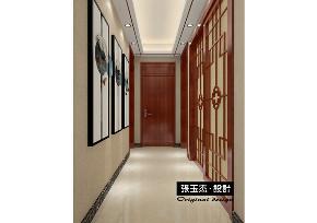 中式 三居 玄关图片来自百家装饰LL在钓鱼台七号146平中式风格的分享