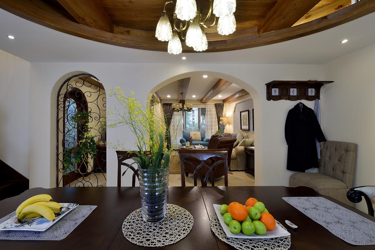 保利茉莉公 别墅装修 现代美式 腾龙设计 餐厅图片来自腾龙设计在保利茉莉公馆别墅美式风格完工的分享