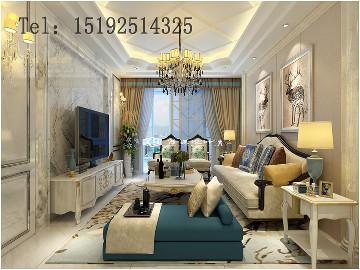 锦绣华城复式260平欧式设计