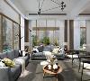 华贸东滩花园别墅项目装修北欧风格设计,上海腾龙别墅设计师孙明安作品,欢迎品鉴