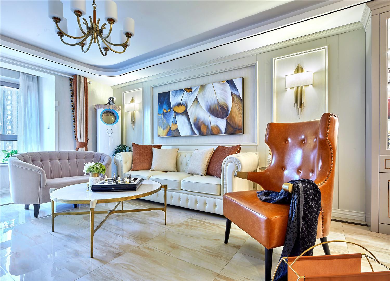 简约 美式 白领 小资 客厅图片来自别墅设计师杨洋在金属优雅美式时尚之家的分享