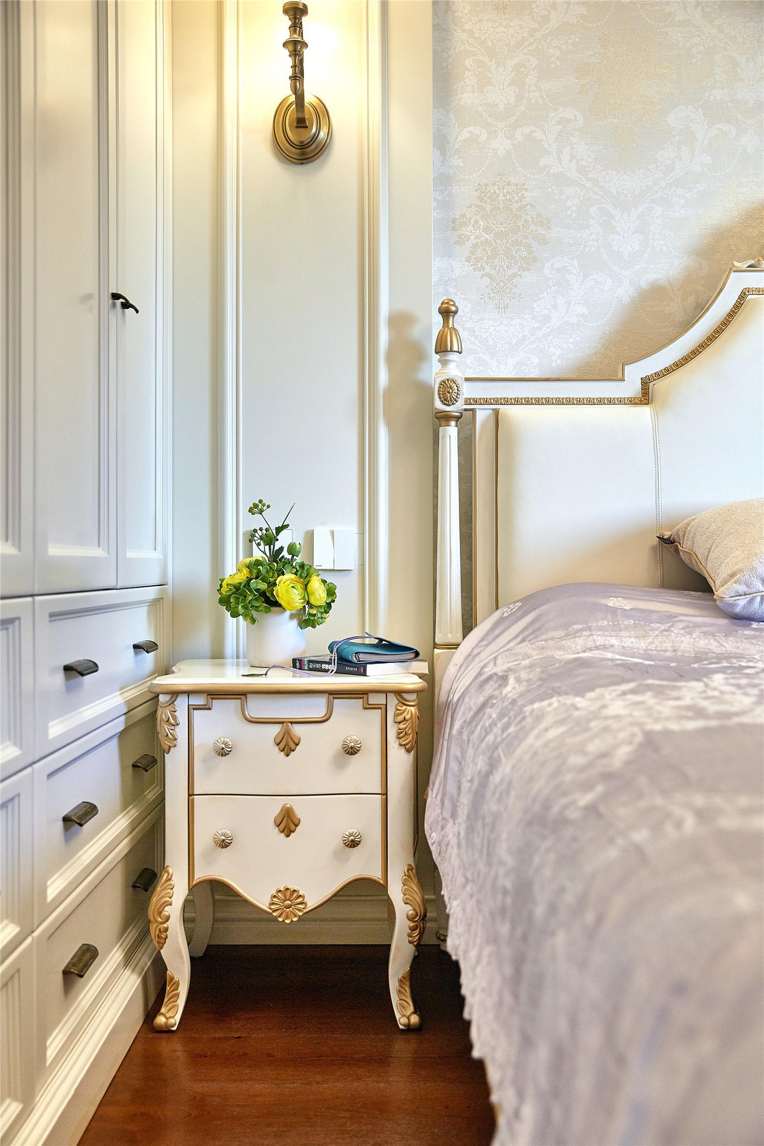 简约 美式 白领 小资 卧室图片来自别墅设计师杨洋在金属优雅美式时尚之家的分享