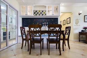 三居 收纳 旧房改造 美式 胭脂设计 家装 纯设计 餐厅图片来自设计师胭脂在胭脂原创设计:梦天家园的分享