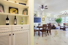 三居 收纳 旧房改造 美式 胭脂设计 家装 纯设计 玄关图片来自设计师胭脂在胭脂原创设计:梦天家园的分享