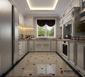 新古典 别墅 跃层 复式 大户型 法式 泷悦长安 厨房图片来自高度国际姚吉智在泷悦长安460平米法式古典大宅的分享