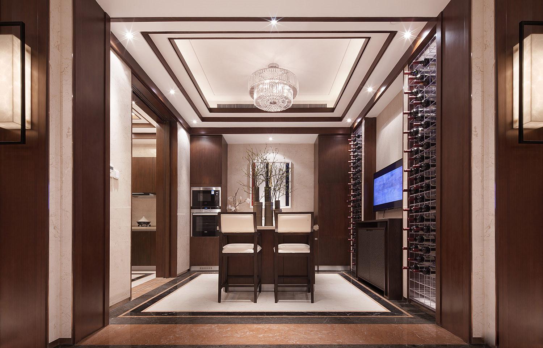 中式 别墅 跃层 复式 大户型 其他图片来自高度国际姚吉智在500平米新中式品味优雅本色的分享