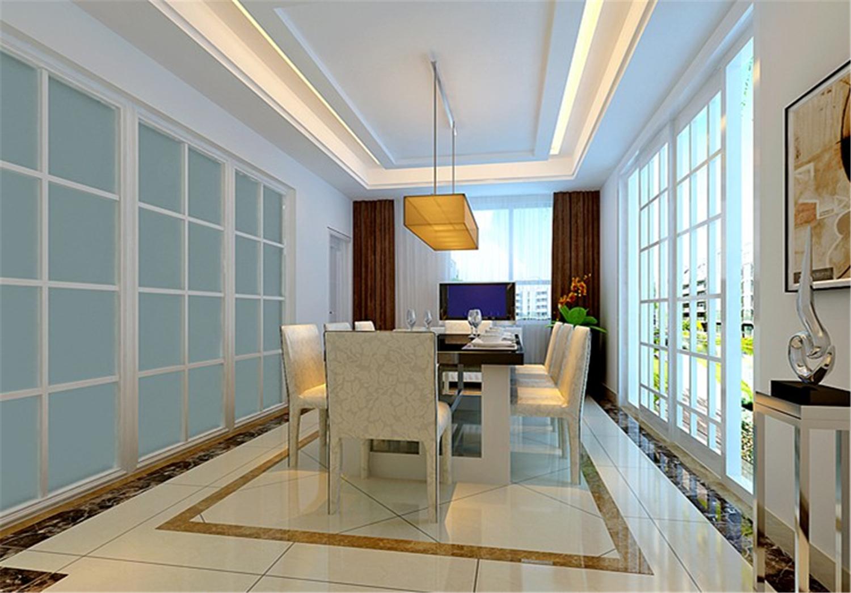 上海蓝堡 蓝堡别墅 现代风格 腾龙设计 餐厅图片来自孔继民在上海蓝堡别墅项目装修设计方案的分享