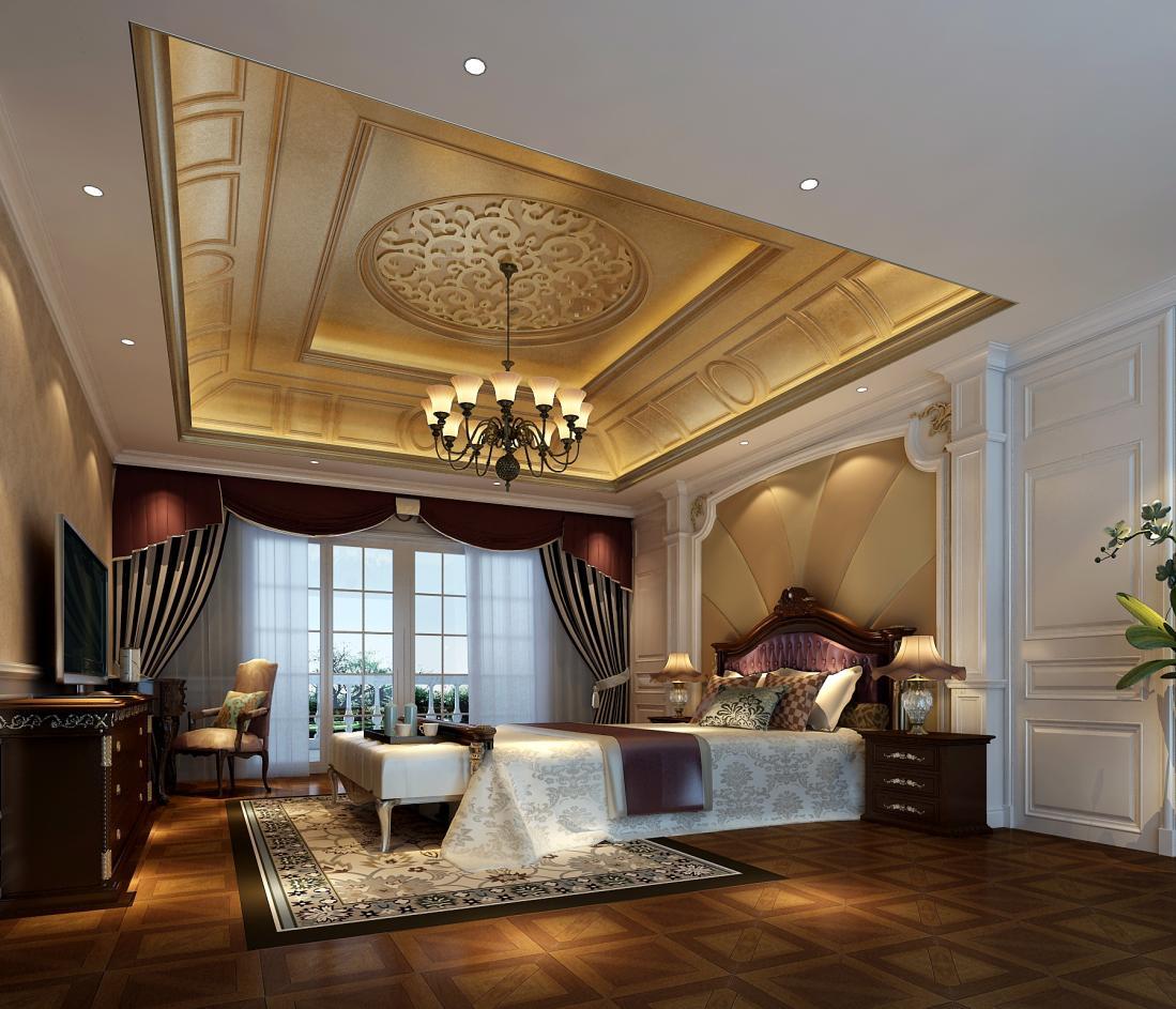 欧泊圣堡 别墅装修 欧式风格 腾龙设计 卧室图片来自孔继民在欧泊圣堡别墅装修欧美风格设计!的分享