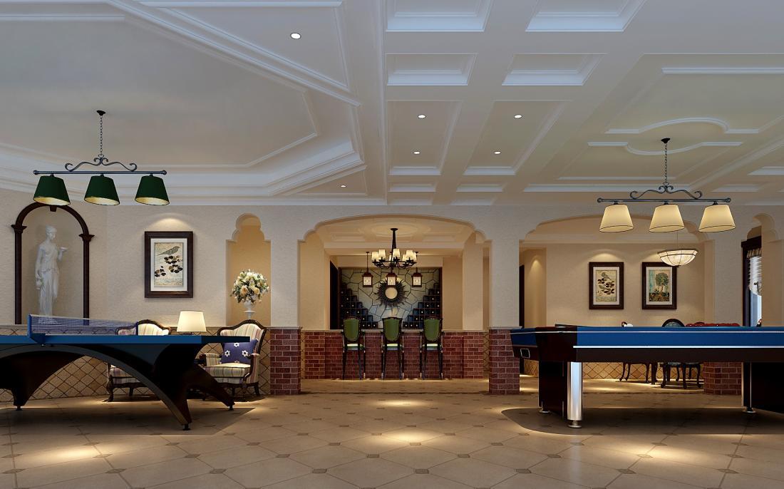 欧泊圣堡 别墅装修 欧式风格 腾龙设计 客厅图片来自孔继民在欧泊圣堡别墅装修欧美风格设计!的分享