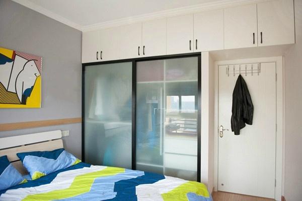 卧室图片来自言白设计在混搭的分享