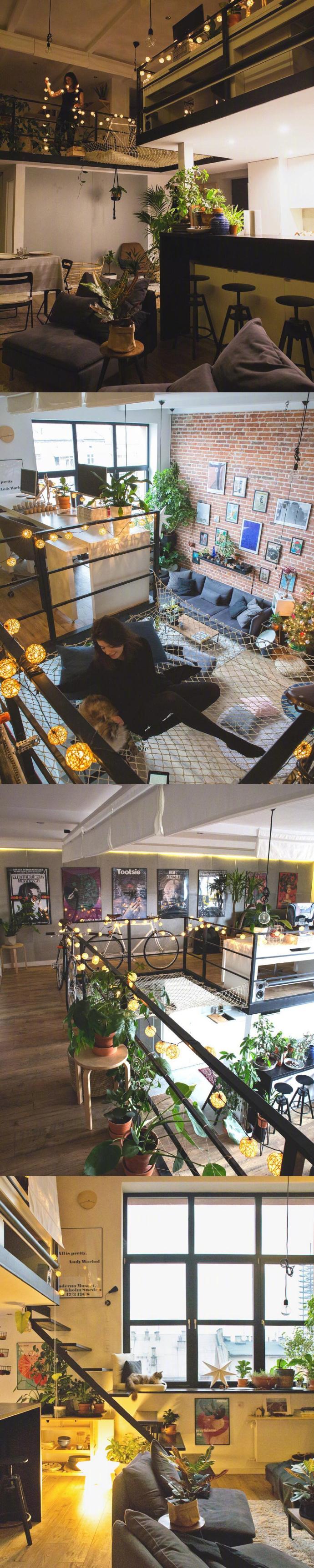 简约 复式 客厅图片来自言白设计在复式的分享