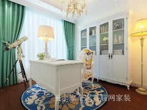 欧式 三居 旧房改造 80后 收纳 书房图片来自五十家全案互联网家装在博洛尼五十家   欧式三居室的分享