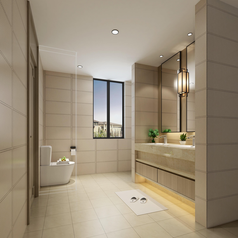 别墅 小资 卫生间图片来自敏空间在浦东惠南镇私人别墅的分享