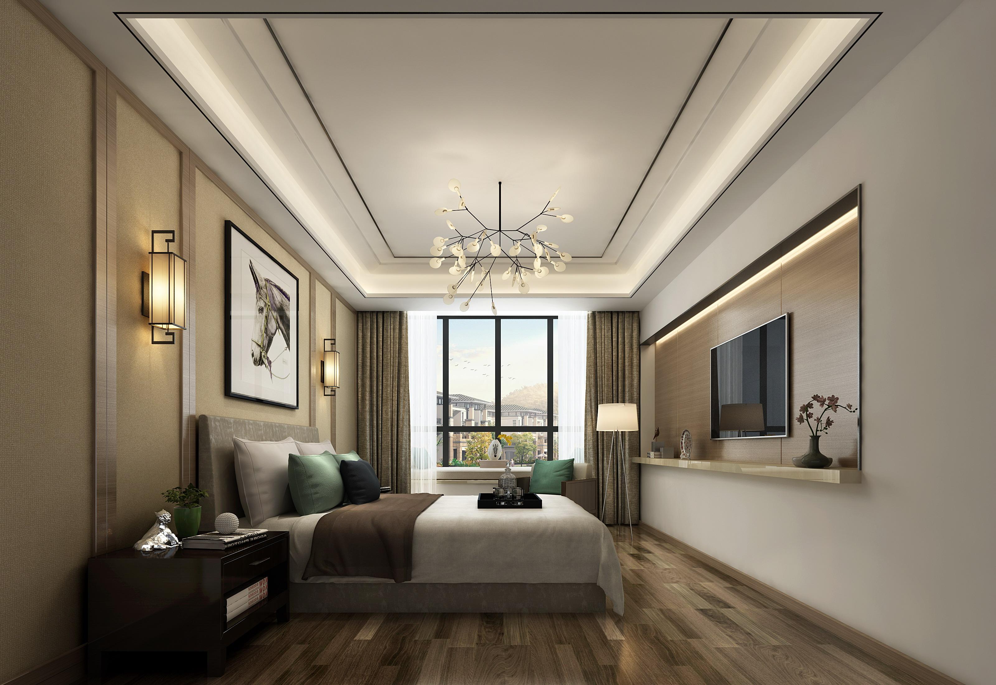 别墅 小资 卧室图片来自敏空间在浦东惠南镇私人别墅的分享