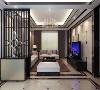 绿中海名苑别墅装修新中式风格设计,上海腾龙别墅设计师李耐忠作品,欢迎品鉴