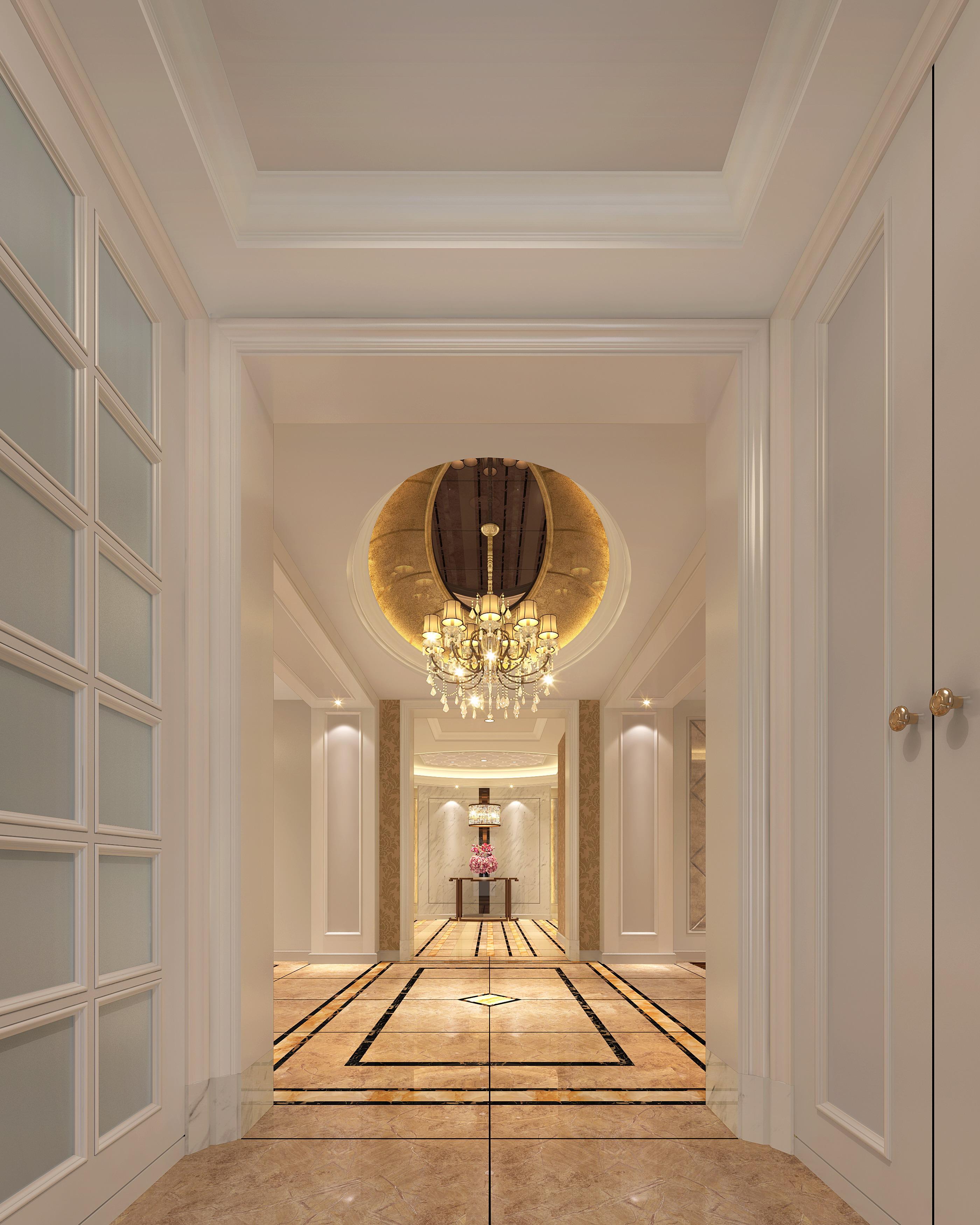 欧式 白领 小资 玄关图片来自敏空间在徐汇中凯城市之光公寓的分享