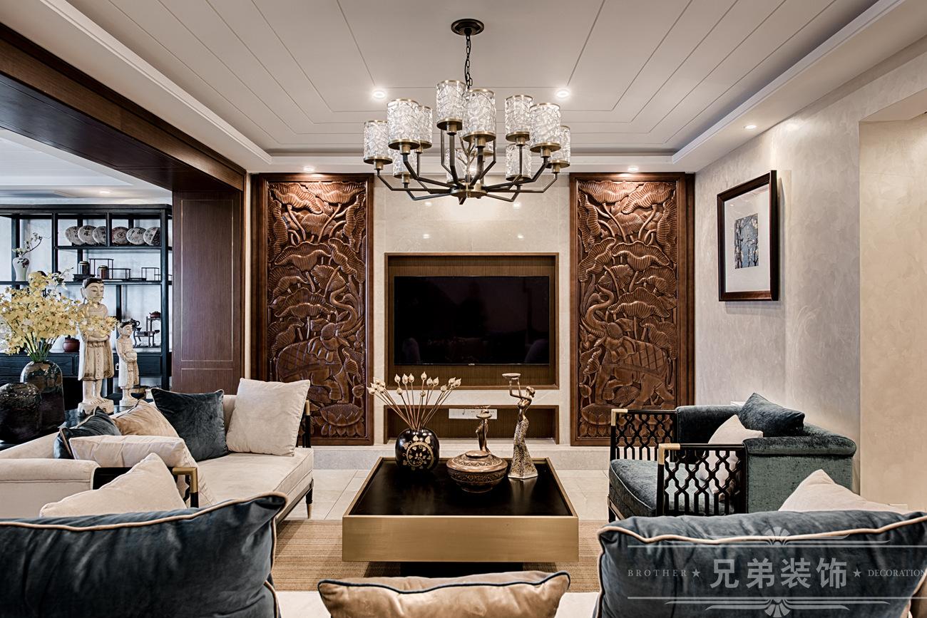东南亚风格 客厅图片来自兄弟装饰-蒋林明在家,不能将就,所以要讲究的分享