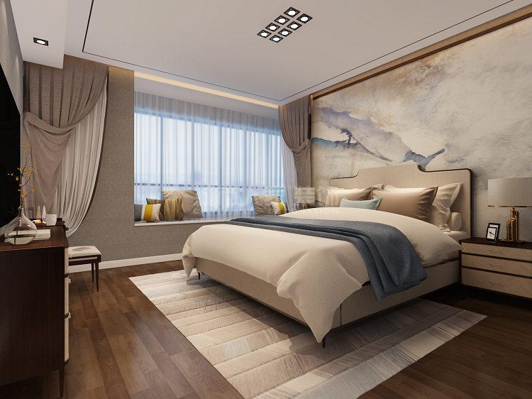 简约 现代风格 复式装修 西安装修 装修公司 卧室图片来自西安城市人家装饰王凯在秦汉佳苑320平现代风格装修的分享
