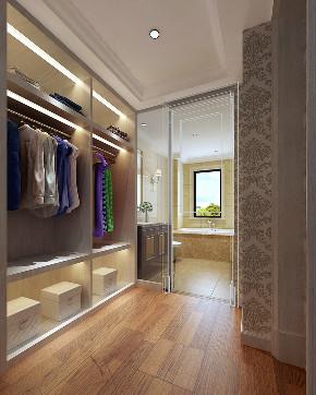 欧式 白领 80后 小资 衣帽间图片来自敏空间在惠南镇艺泰一品公寓的分享